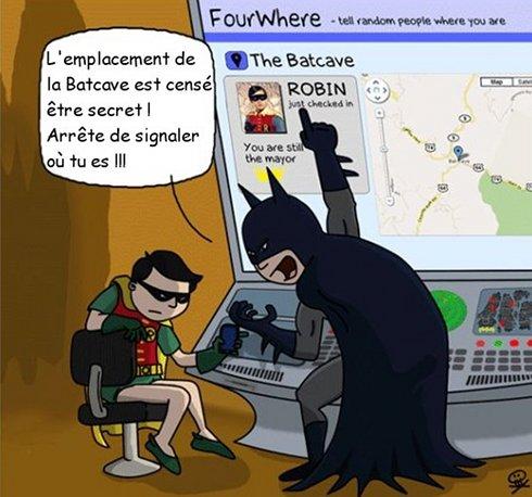 Batman et les réseaux sociaux