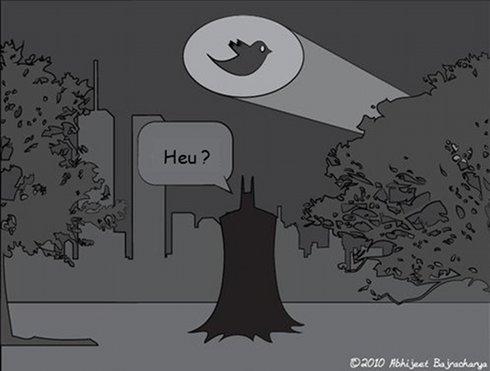 Batman et Twitter