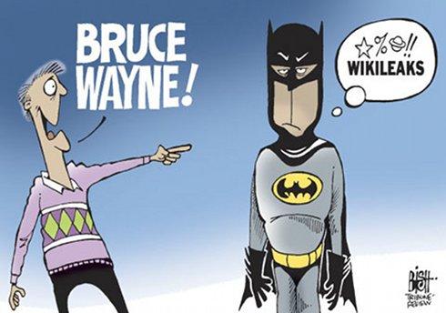 Batman et Wikileaks