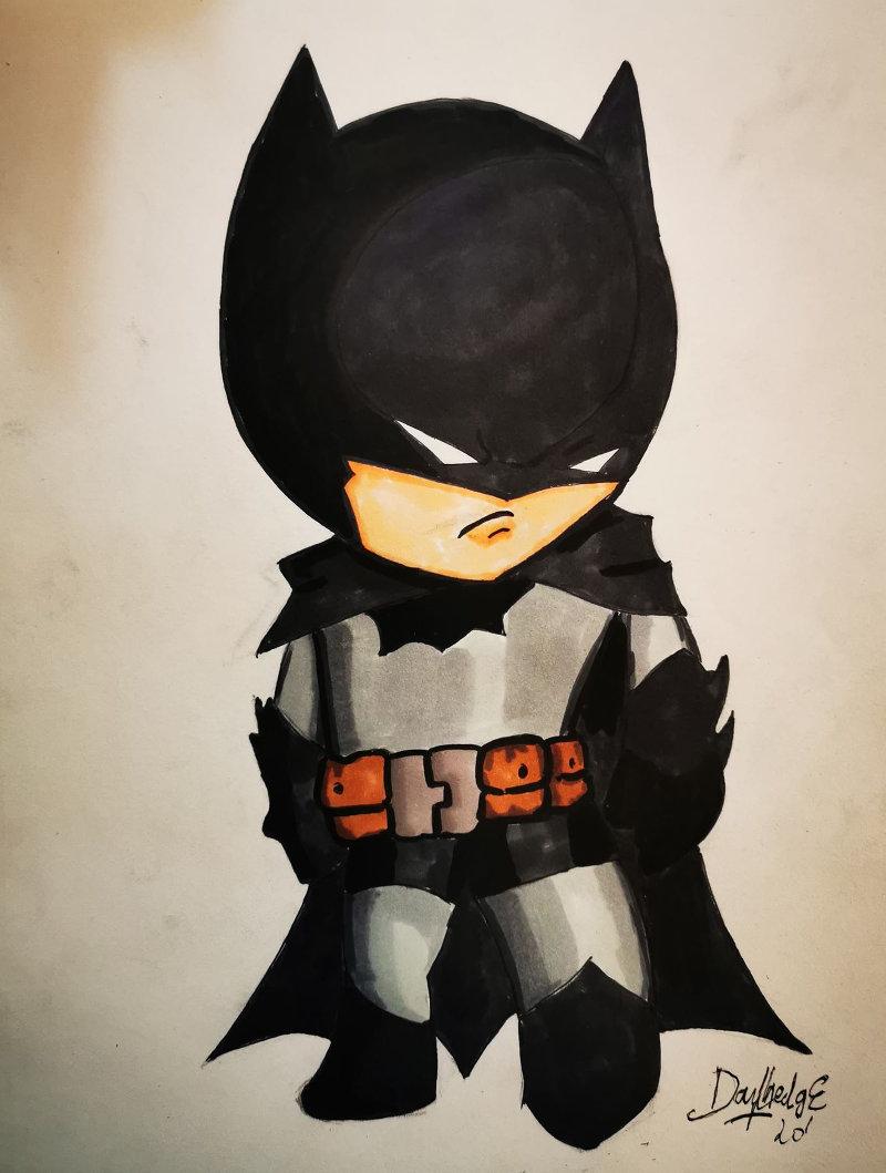 Une case en moins ! Batman