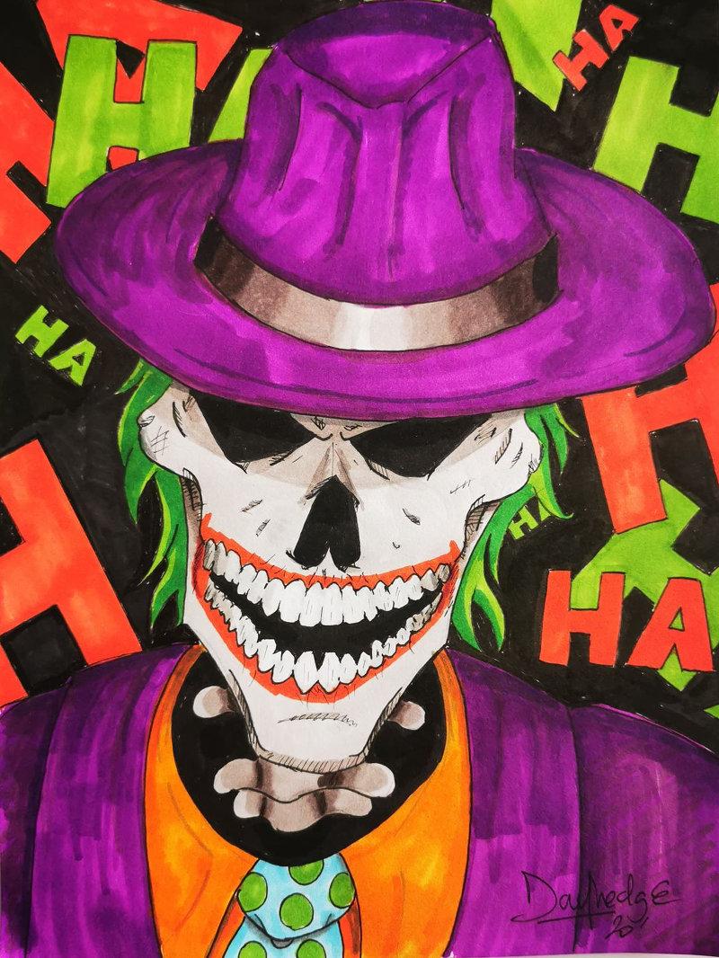 Une case en moins ! Le Joker