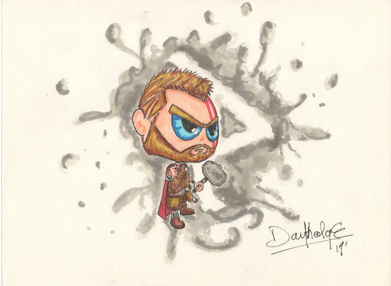 Une case en moins ! Thor