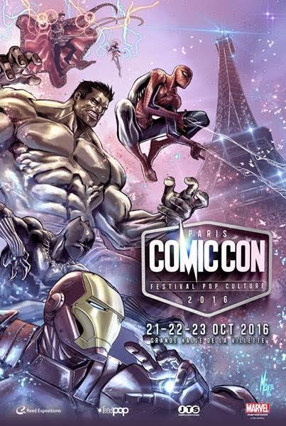 Comic Con Paris 2016