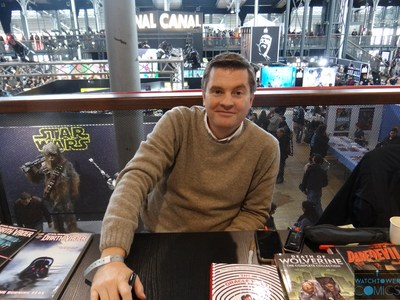 Charles Soule Comic Con Paris 2018