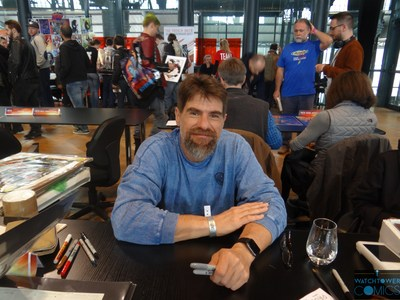 Andy Kubert Comic Con Paris 2018