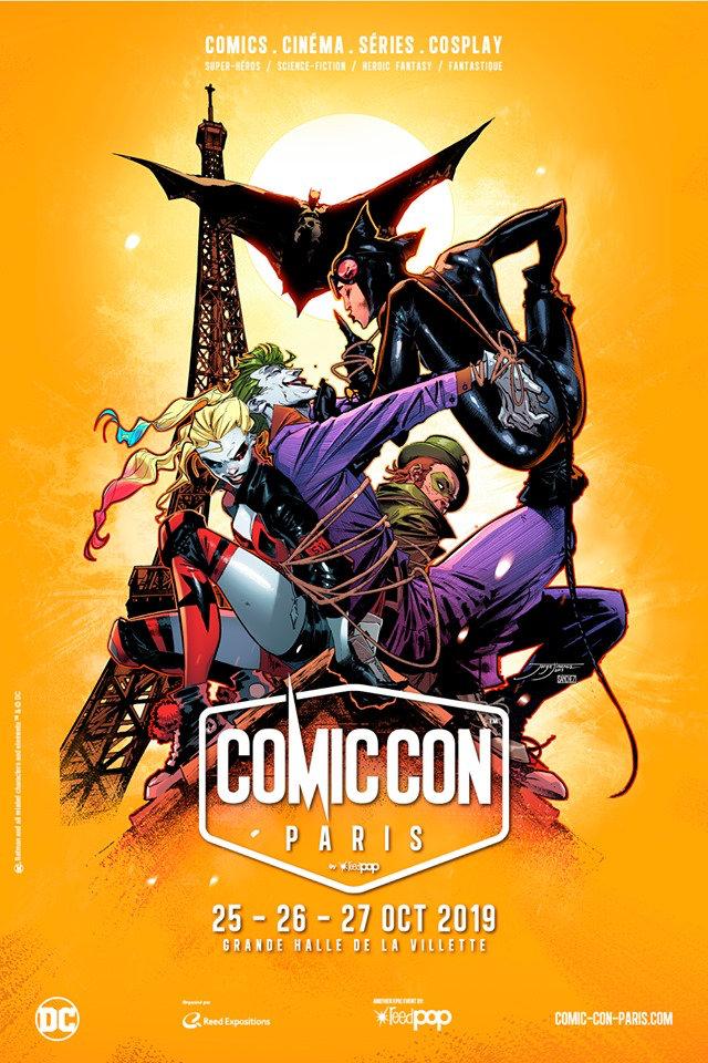 Comic Con Paris 2019 : Affiche réalisée par Jorge Jimenez