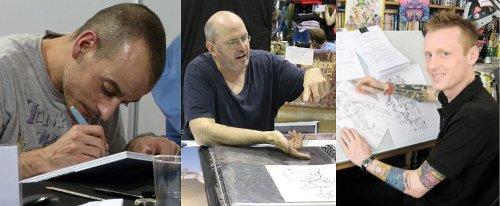 David Aja, Geoff Darrow, Rufus Dayglo