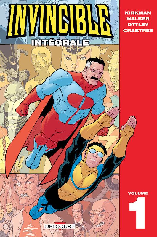 Concours Invincible intégrale 1 Delcourt Comics