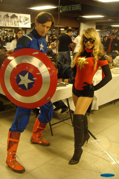 Captain America et Miss Marvel