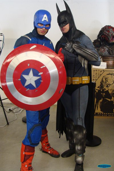 Captain America & Batman