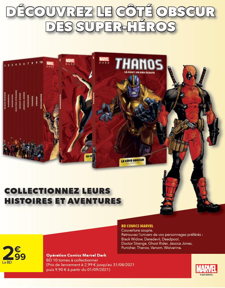 Panini / Carrefour Marvel : Le Côté obscur
