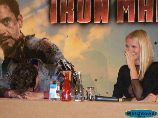 Conférence de presse Iron Man 3