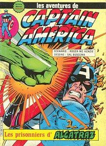 Captain America Les prisonniers d'Alcatraz