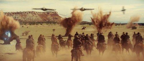 Cowboys face aux envahisseurs