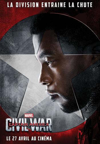 Captain America Ciwil War Black Panther