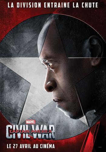 Captain America Civil War War Machine