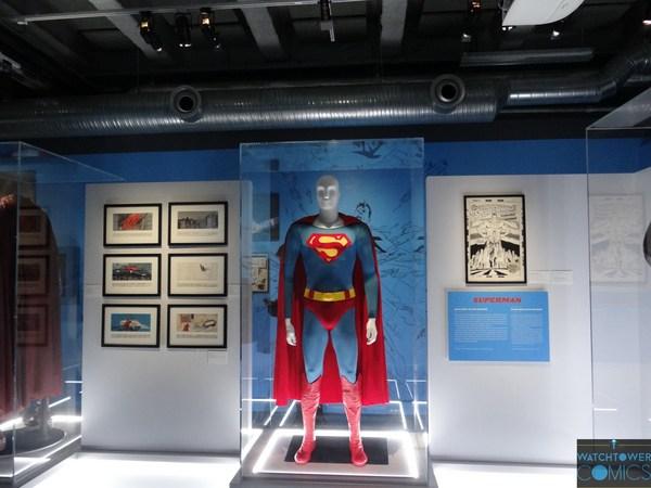 Exposition L'art de DC - L'aube des super-héros