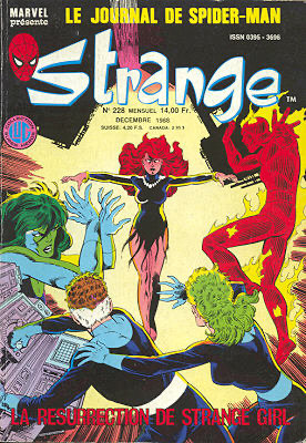 Flashback : Strange 228