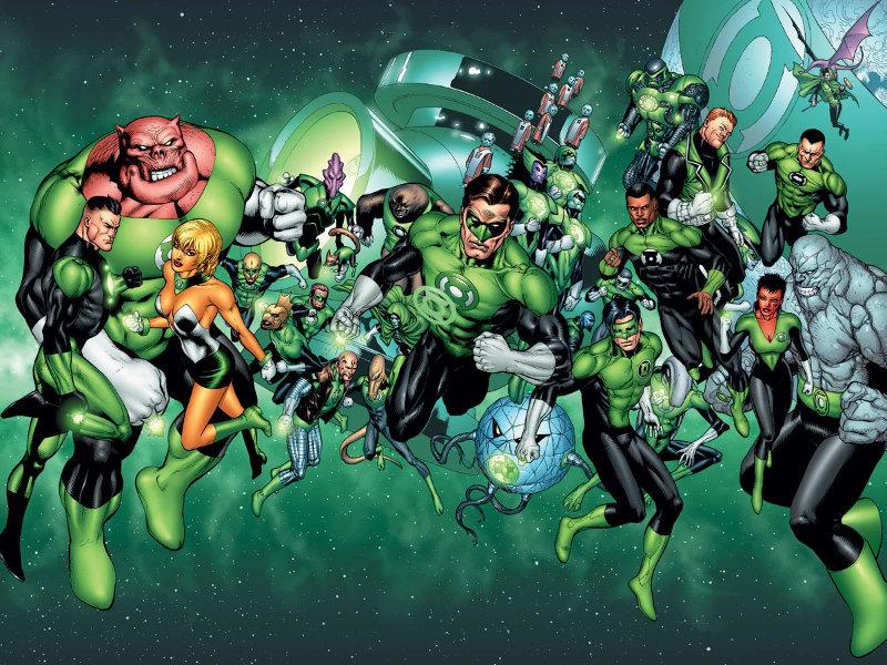 Green Lantern : Le Corps