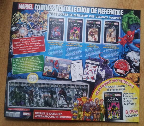 Marvel par Hachette et Panini
