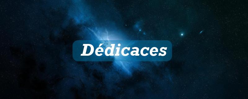 Dédicaces