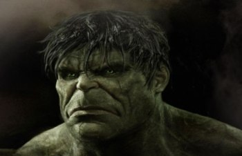 La tête de Hulk