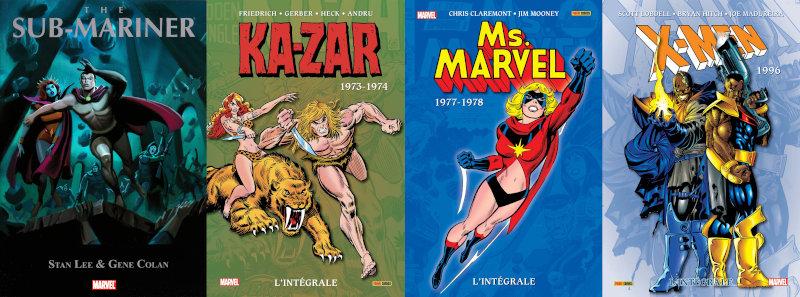 Panini Comics intégrales Marvel