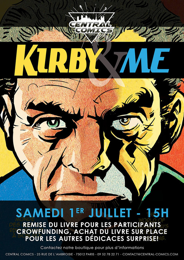 Kirby & Me Central Comics