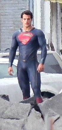 Photo de tournage de Superman