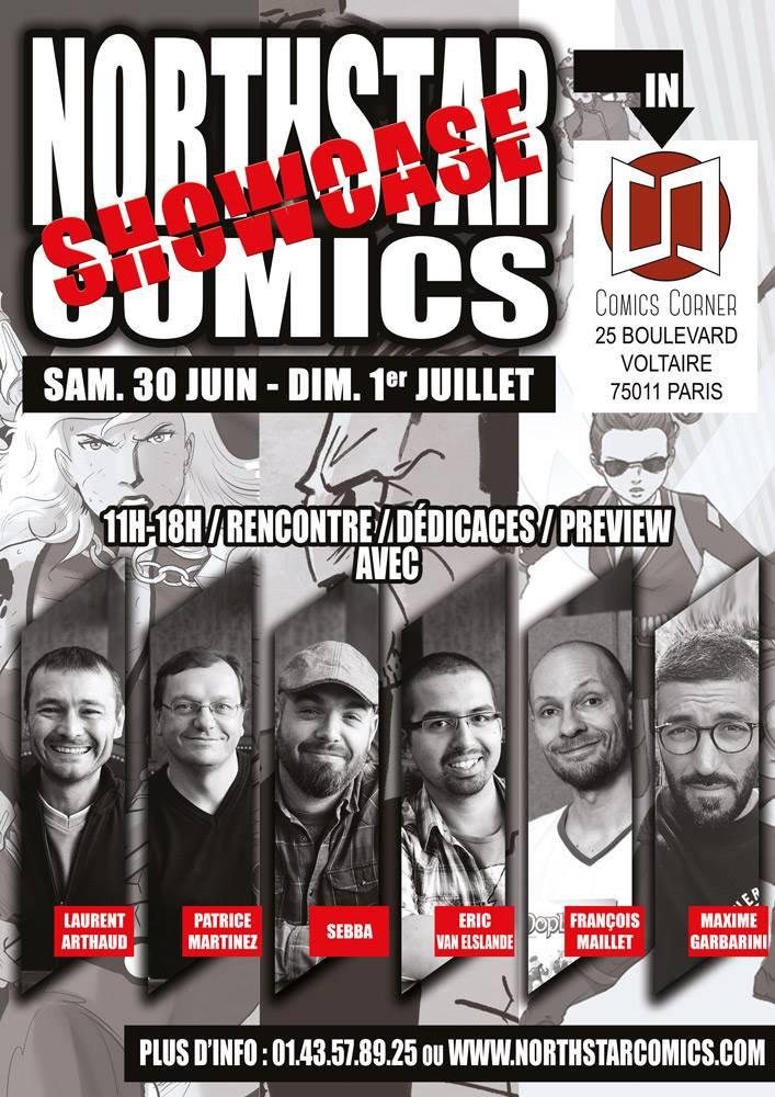 Showcase Northstar Comics