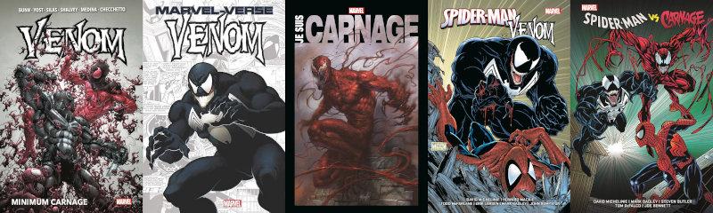 Panini Comics : Venom et Carnage en septembre