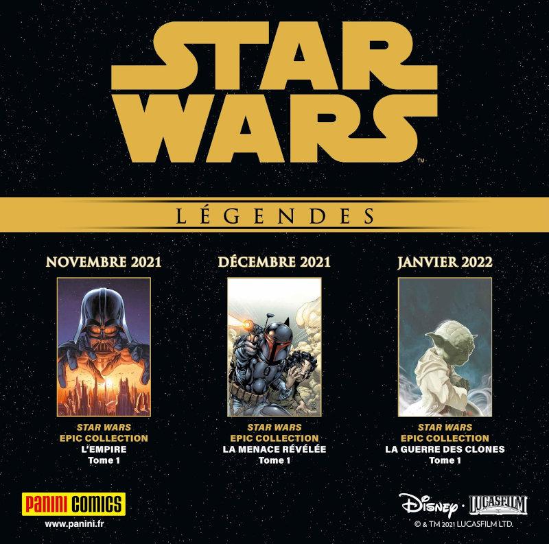 Panini Comic Star Wars Légendes