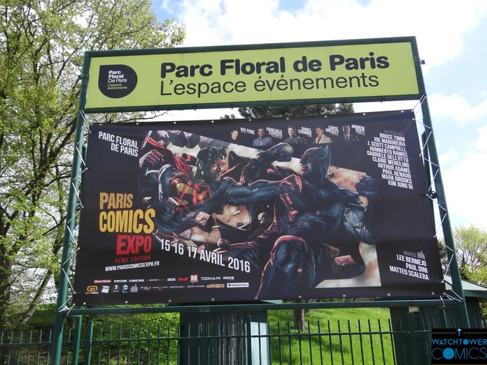 Paris Comics Expo 2016
