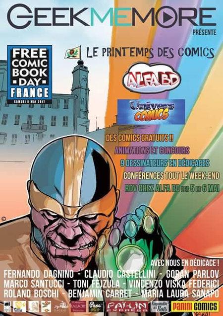 Le printemps des comics 2017