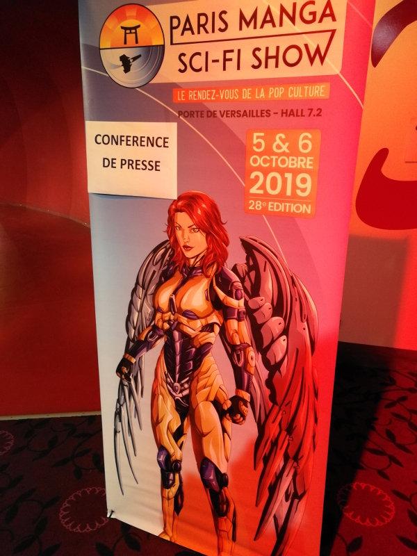 Paris Manga & Sci-Fi Show 28 : conférence de presse