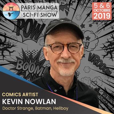 Paris Manga & Sci-Fi Show 28 : Kevin Nowlan