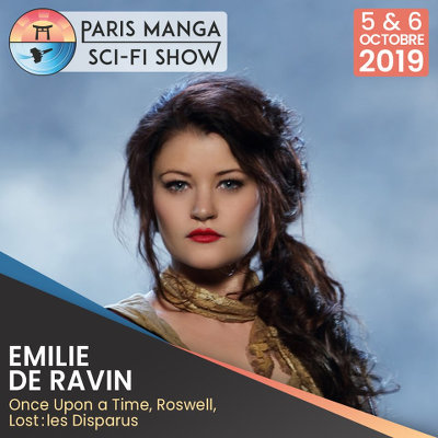 Paris Manga & Sci-Fi Show : Emilie de Ravin