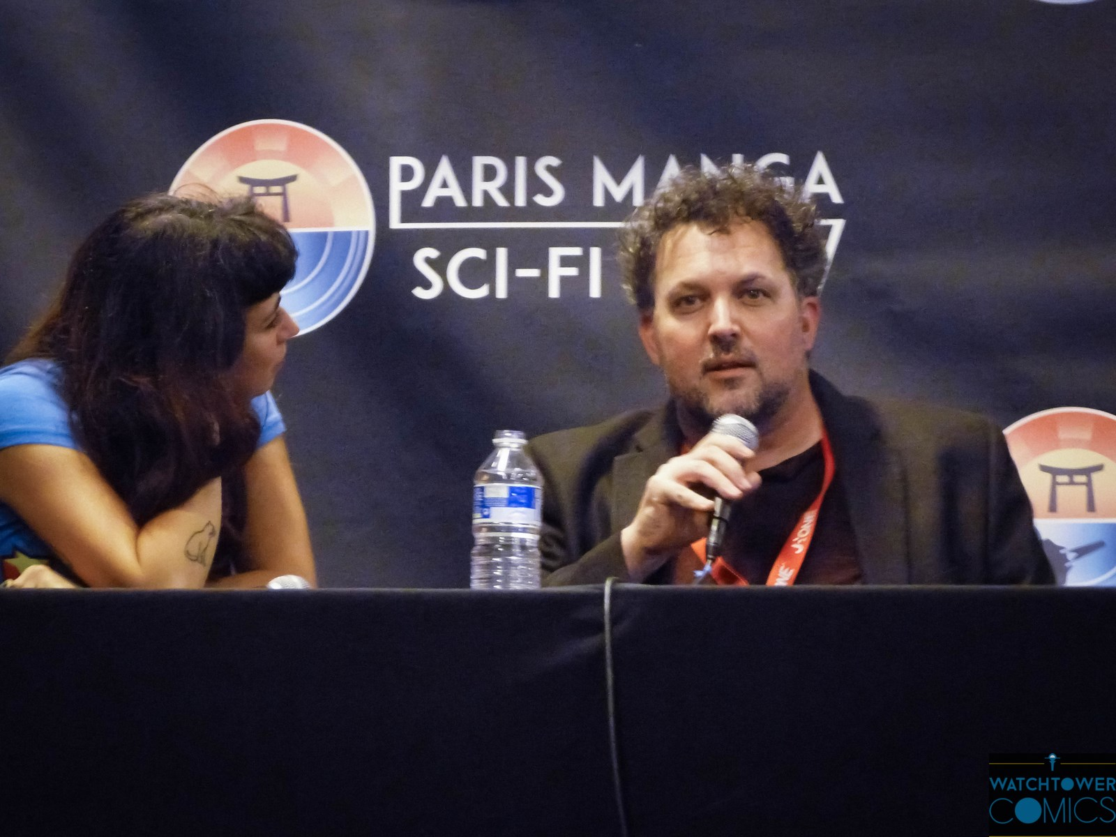 Paris Manga & Sci-Fi Show 28 : Darick Robertson