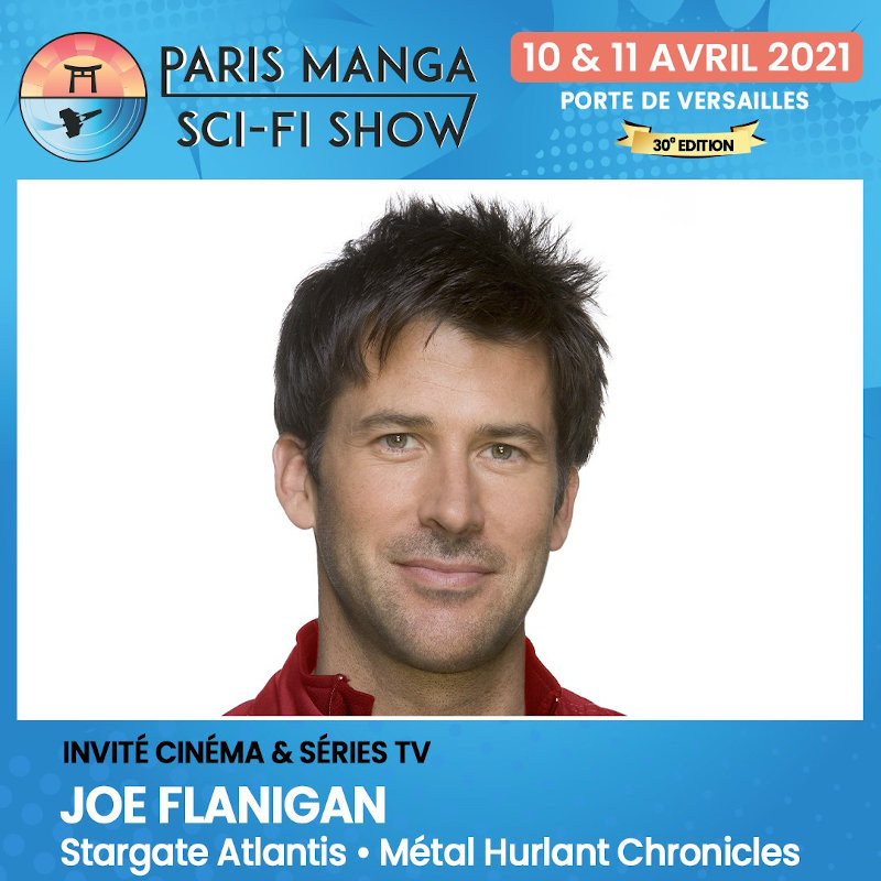 Paris Manga & Sci-Fi Show 30 : Joe Flanigan