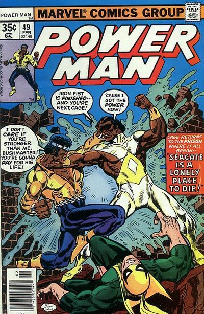 Power Man #49 : Luke Cage vs Bushmaster
