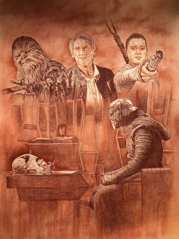 Portraits : Star Wars épisode VII