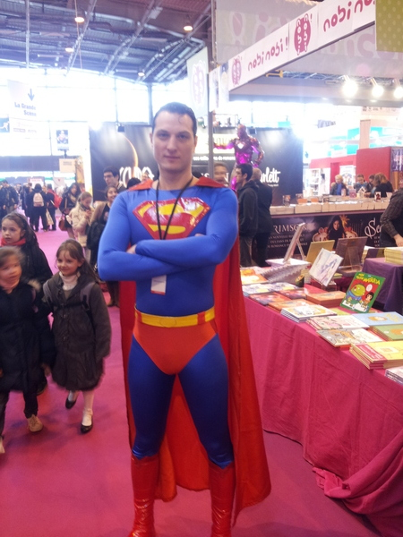 Superman (salon du livre 2013)
