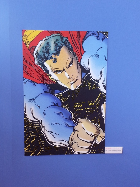 Expo Superman (salon du livre 2013)
