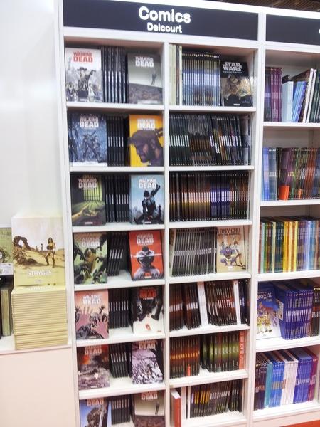 Delcourt (salon du livre 2013)