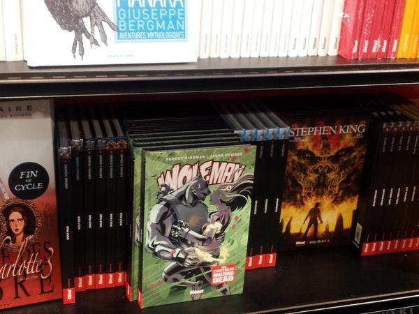 Glénat Comics (salon du livre 2013)