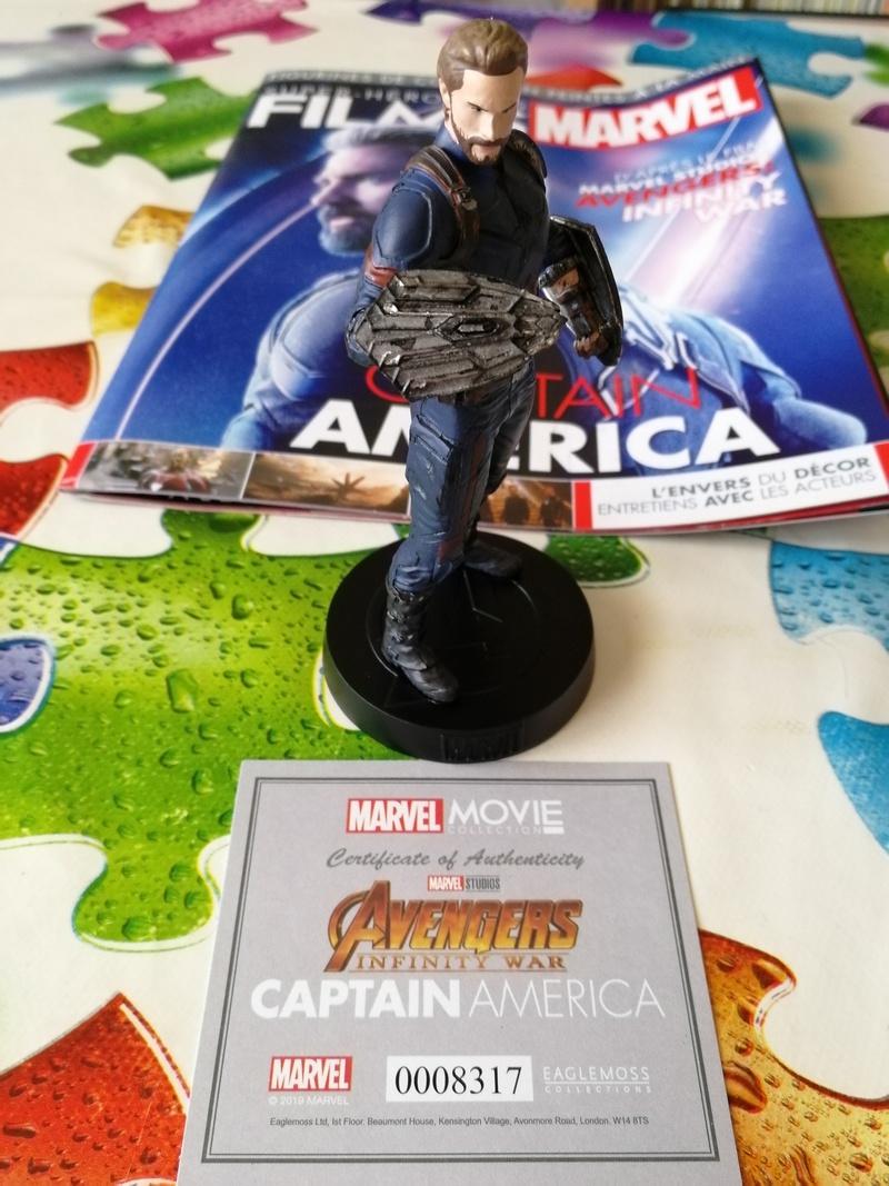 Super-héros des films Marvel édition 2019 (Eaglemoss) : Captain America