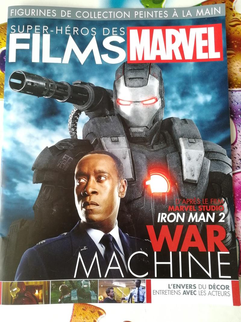 Super-héros des films Marvel édition 2019 (Eaglemoss) : War Machine