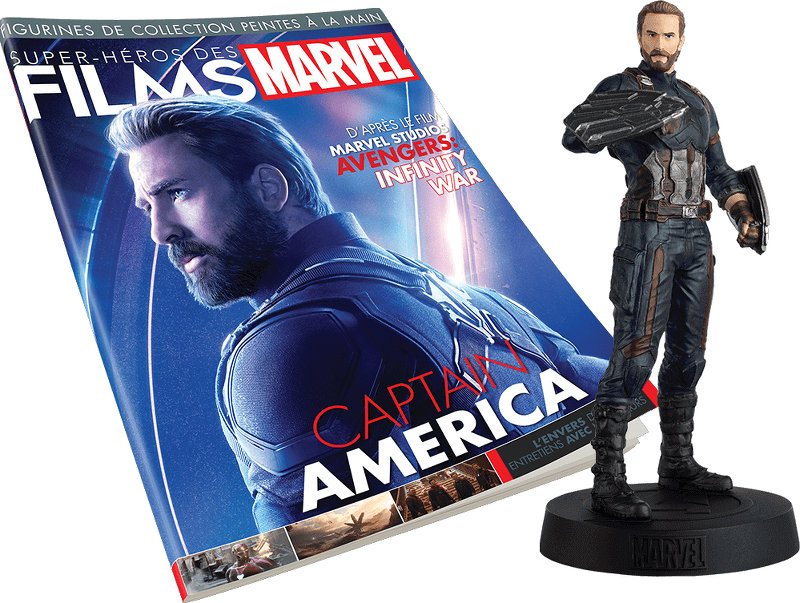 Super-Héros Films Marvel 2019 Eaglemoss : Captain America
