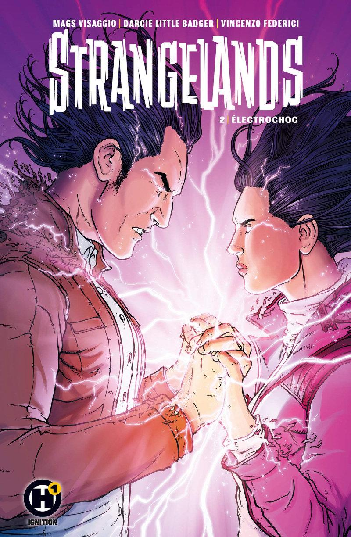 H1 Comics : Strangelands tome 2
