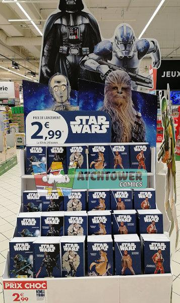 Panini / Carrefour / Star Wars Chroniques d'une galaxie lointaine